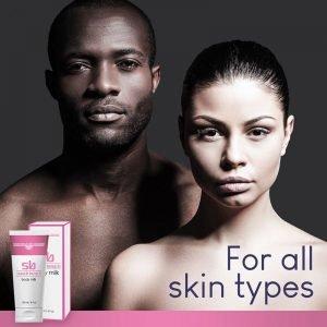 SB Skin Brightening Body Milk - for all skin types