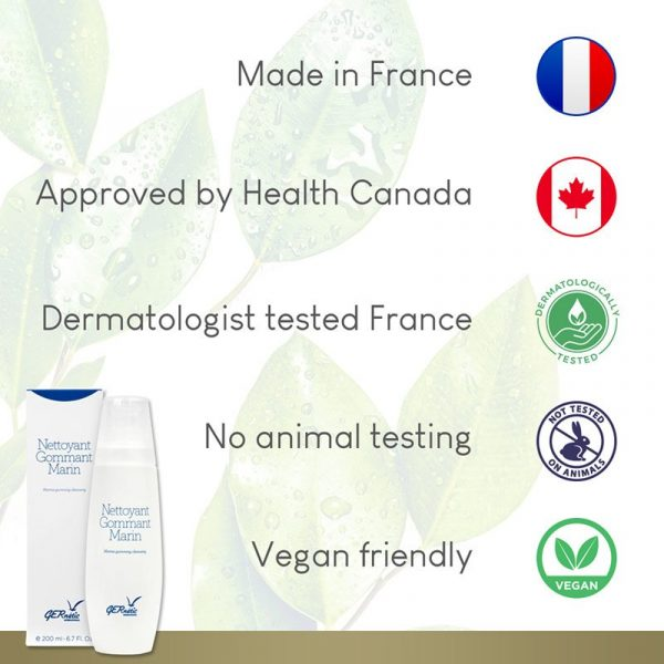 GERnétic Nettoyant Gommant Marin - tested & approved