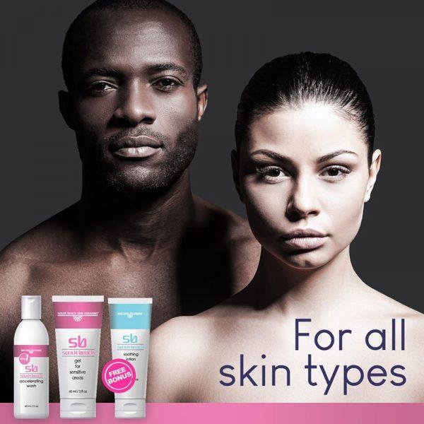 SB Skin Lightening Kit – Intimate - for all skin types
