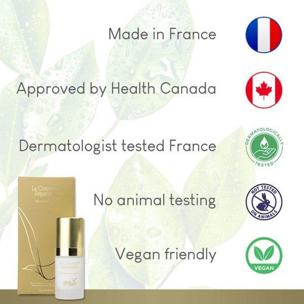 GERnétic Le Concentré Réparateur - tested & approved