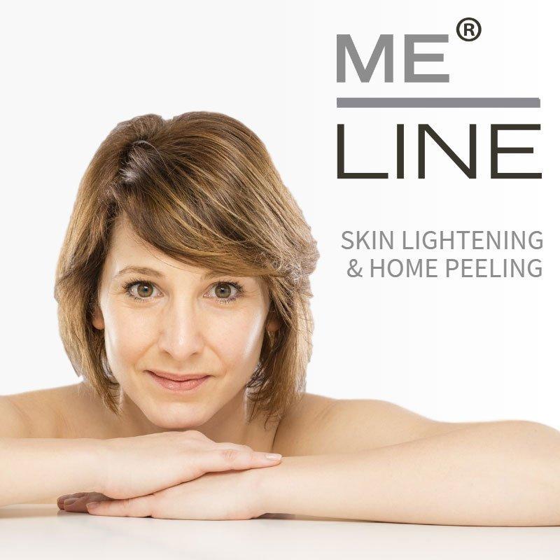 ME LINE Skin Lightening Peeling Kit for Fair Skin