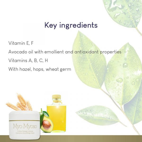 GERnétic Myo Myoso - key ingredients